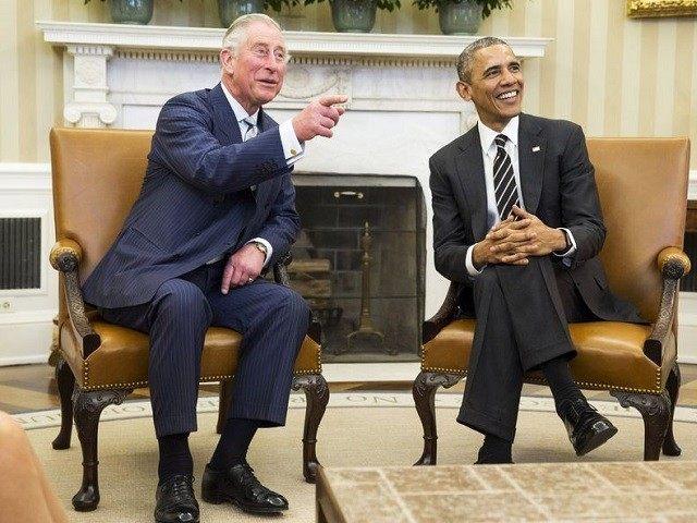 Prince Charles Barack Obama Reuters