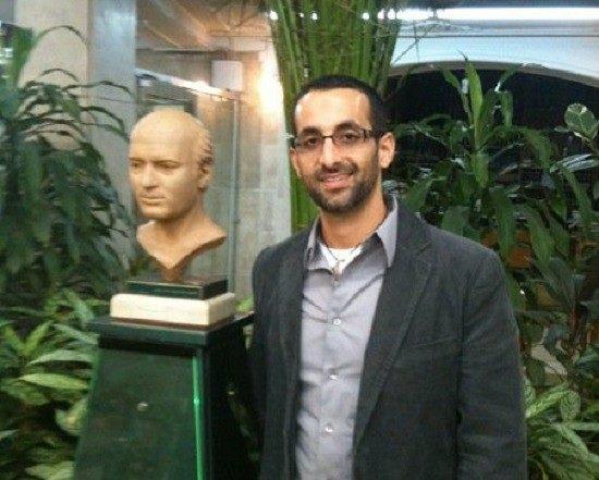 Professor Cyrus A. Contractor in Iran, January, 2010. Facebook Photo