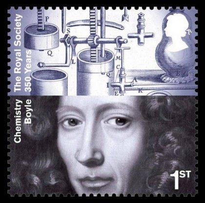 Royal Society stamp