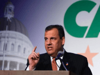 Chris Christie at CAGOP (Jon Fleischman / Breitbart News)