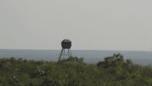 Texas Border Between Laredo and Eagle Pass/Border Patrol Observation Stand