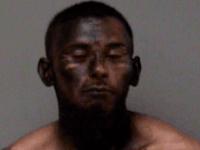 Blackface mugshot (Madera County Jail via MaderaMugshots.com)