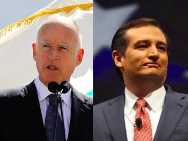 Brown-vs.-Cruz (Breitbart news wires)