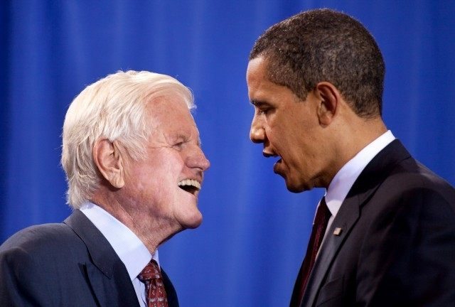 Senator_Edward_Kennedy_with_President_Barack_Obama_4-21-09