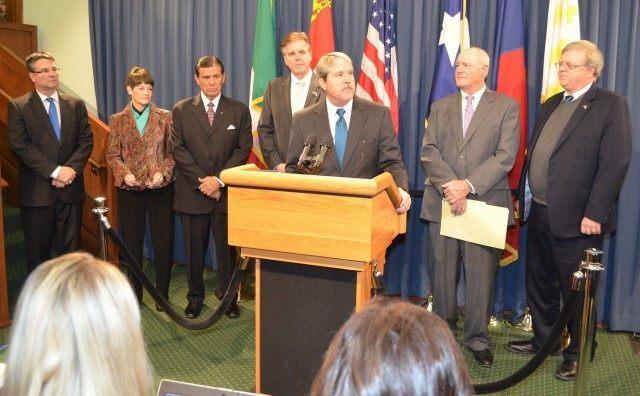 State Senate Press Conf on Education