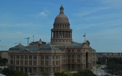 Texas Capitol from SW view