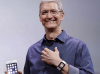 Tim Cook, Apple Watch (Associated Press)