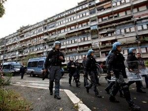 Tor Sapienza Rome Migrant Riots Italy