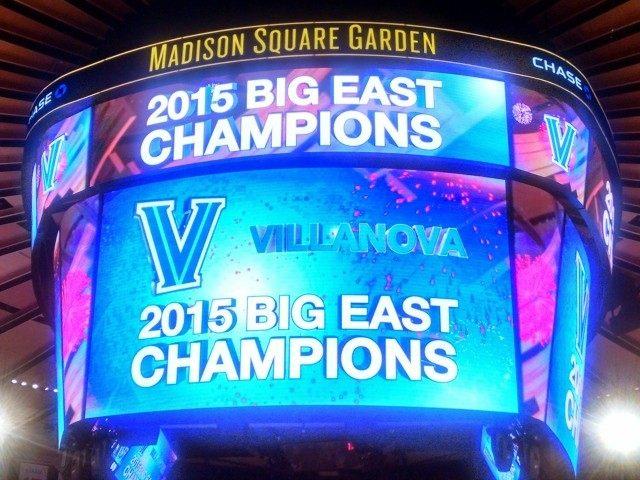 Villanova Big East Champion