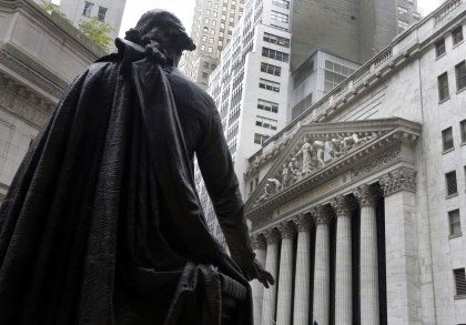 George Washington statue, New York Stock Exchange