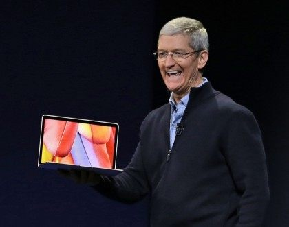 Tim Cook; MacBook