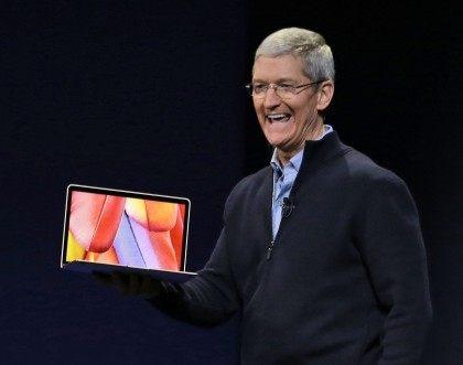 Tim Cook; MacBook