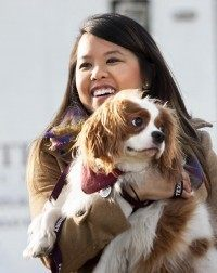 nina pham and bentley