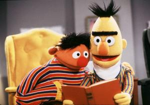 Sesame Street' Bert and Ernie, not gay, not straight, they're puppets