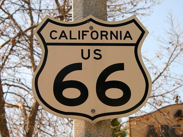 California Route 66 (Chuck Coker / Flickr / CC)