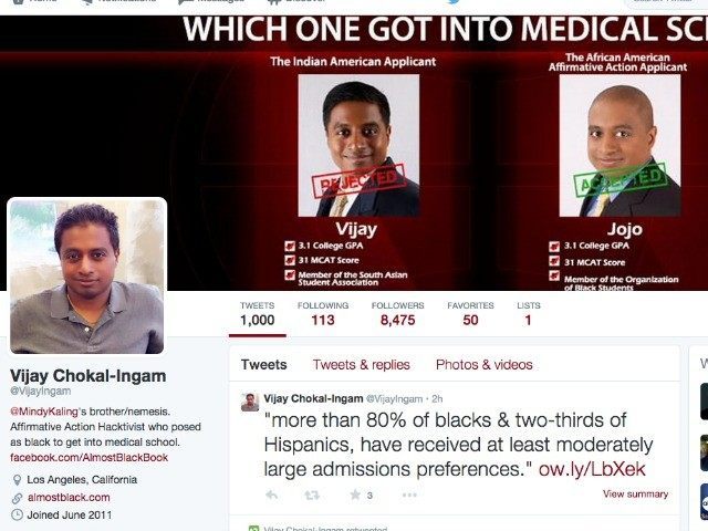 Mindy Kaling S Brother Lied About Being Black To Get Into Med School Calls Affirmative Action Racist