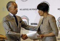 Stephanie Rawlings-Blake, Al Sharpton