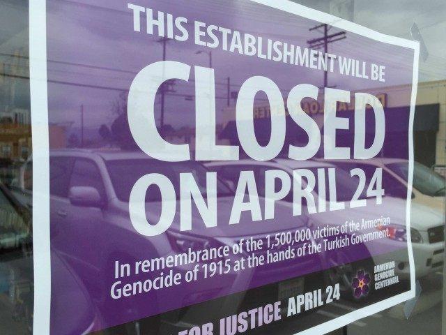 Armenian Genocide (Joel Pollak / Breitbart News)