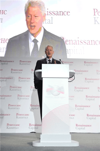 Bill Clinton Renaissance 2010 3