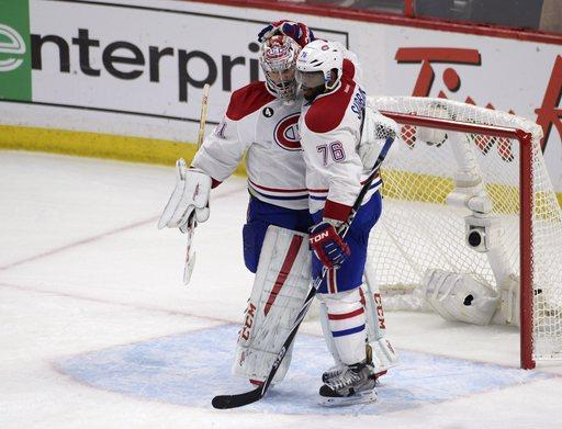 Canadiens Senators Hockey