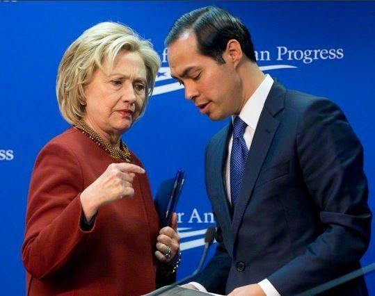 Clinton-Castro Pablo Martinez Monsivais-AP