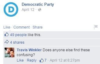 DNC FB Perry comments