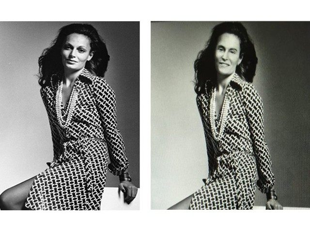 Diane Von Furstenburg Bruce Jenner