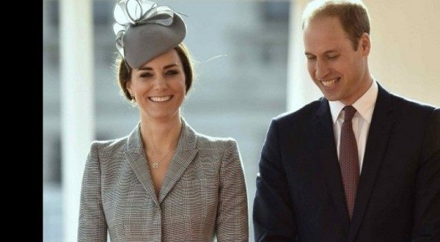 The Duke and Duchess of Cambridge / AFP