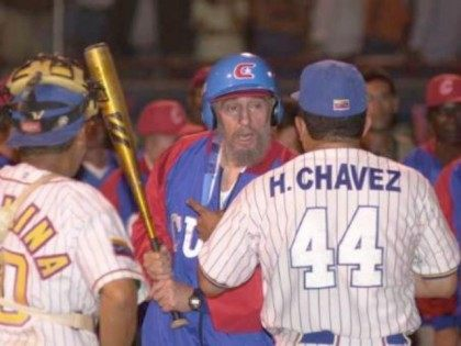 Fidel Castro Baseball