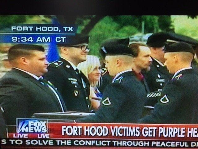 Fort Hood Purple Heart - Fox News Screenshot