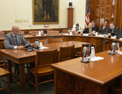 Garza testifying at Senate Committee - Bob Price