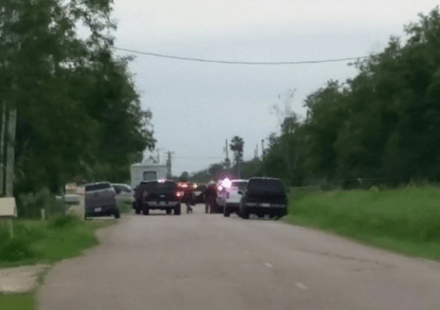 Hidalgo County SO Shooting Scene