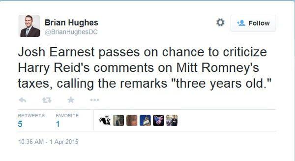 Hughes tweet