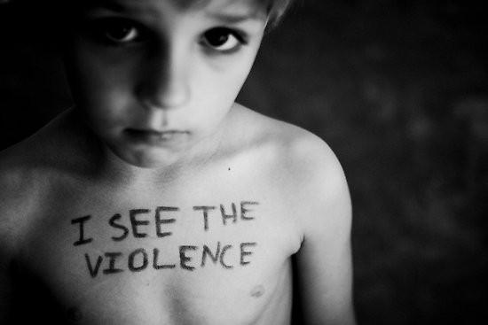 I see the violence - creative commons