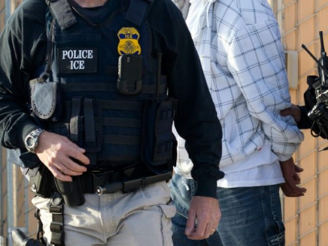 Immigration officials arrested 235 criminal aliens across four western states …