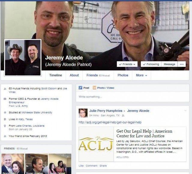 Jeremy Alcede Facebook Page
