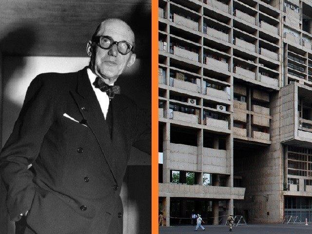 Le Corbusier Montage