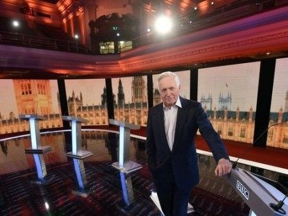 Tonight's debate will be hosted by David Dimbleby.