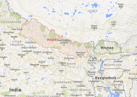 Map Nepal