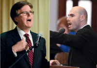 Lt. Gov. Dan Patrick and Chairman Dennis Bonnen