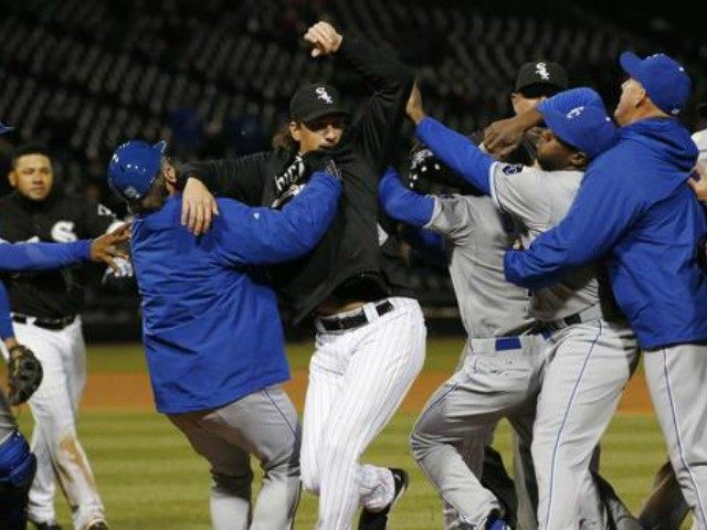 Royals White Sox Fight