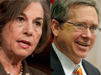 Schakowsky and Kirk (Images by Associated Press)