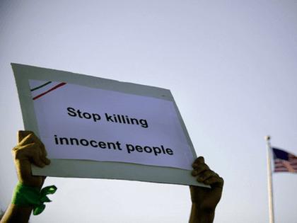 Iran protest (Jennifer Smith / Flickr / CC)