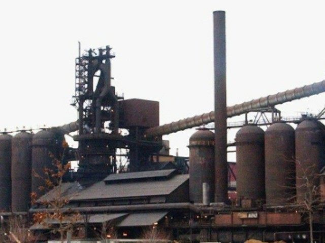 In this March 21, 2005 file photo, the Severstal steel plant in Dearborn, Mich., is shown.