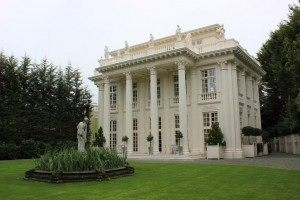 The ordinary Ealing home Prince Janek converted into a Polish Palace.