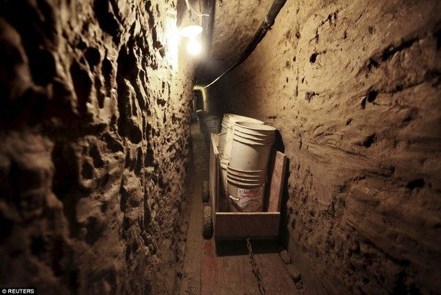 Tijuana Tunnel - Reuters