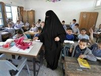 muslim female teacher