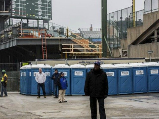 Wrigley Porta-Potties AP
