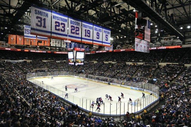Nassau Coliseum, New York Islanders, Columbus Blue Jackets