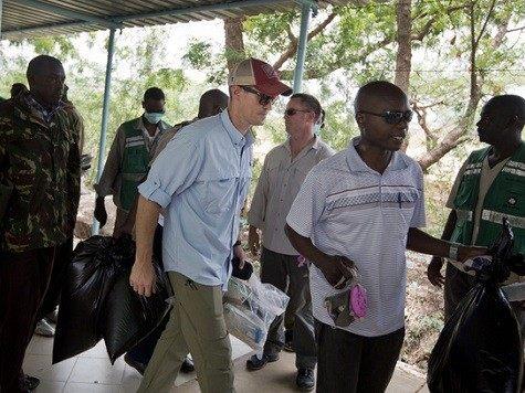 US investigators assist forensic team at Garissa college.